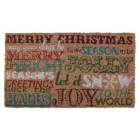 Christmas coir doormat- 2 designs available £1.00 @dunelm mill Free R&C