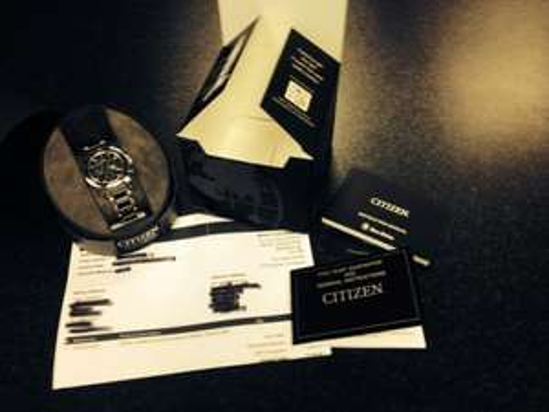 Saved £150 (50%) on a women's ceramic Citizen watch - £149.50 @ Marketcross Jewellers