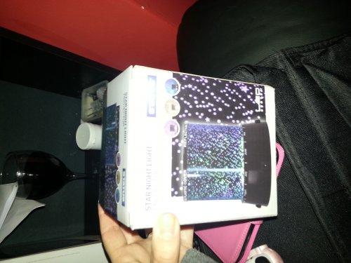 Star Night light projector £5 @ Asda