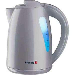 Breville VKJ558 Cordless illuminated Jug Kettle in Silver down to £18.99 including delivery @Electrical123