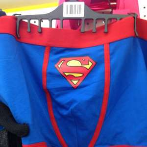Superman boxers £1 @ Poundland