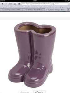 Garden Wellington boot planter was £14.99- now £3.99 R&C @ Argos