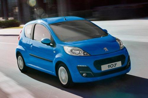 New Peugeot 107 Just £5999 list price £8095