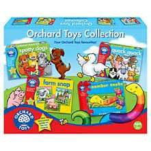 Orchard toys collection £7.49 for 4 games (70 % off) at Sainsburys