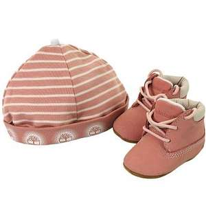 Timberland Crib shoes with hat £18.50 delivered @ Hurleys online(possible £16.65 with code)