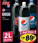 Pepsi, Pepsi max, Pepsi diet 89p at Lidl