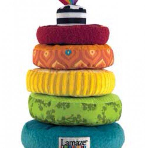LAMAZE RAINBOW STACKING RING ASDA £4