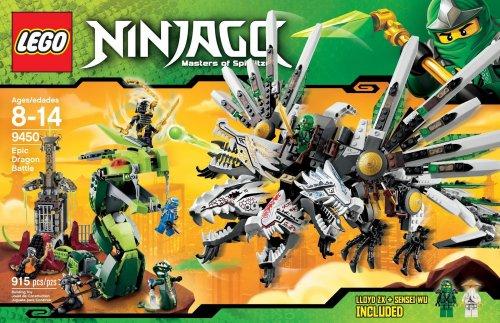 Lego Ninjago Epic Dragon Battle 9450, £90 RRP, 54% off! now £41.61 @ Amazon