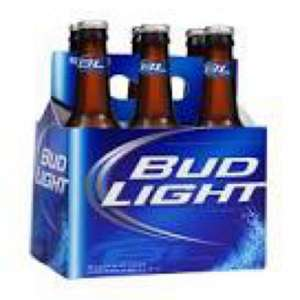 6 Pack of Bud Light @ Tesco £2.50