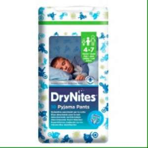 Huggies Dry nights pyjama pants £3 @ ASDA