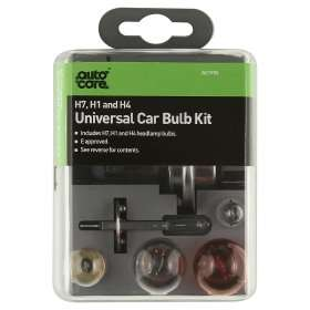 Auto Care Universal Car Bulb Kit £3 @ Asda