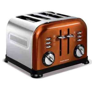 Morphy Richards Accents Copper 4 Slice Toaster reduced £27.99 @ Dunelm Mill (free click and collect)