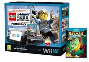 Nintendo Wii U Bundles Lego City & Rayman Legends £239.99 - Mario & Luigi / Zelda Wind Waker HD £239.00 @ Amazon