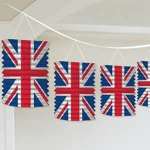 union jack lantern garland , 2.99 @ baker ross