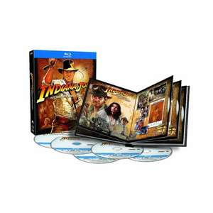 Indiana Jones Complete Blu-Ray (Region Free) £18.40 @ Amazon Canada