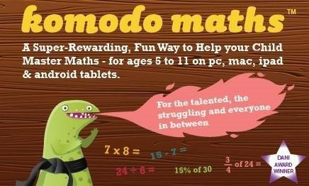 50% off Komodo Maths @ LittleBird.co.uk