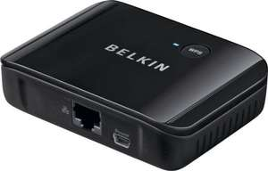BELKIN UNIVERSAL WI-FI RECEIVER for HDTV and Ethernet Devices @ Argos_Ebay for £19.99 Delivered