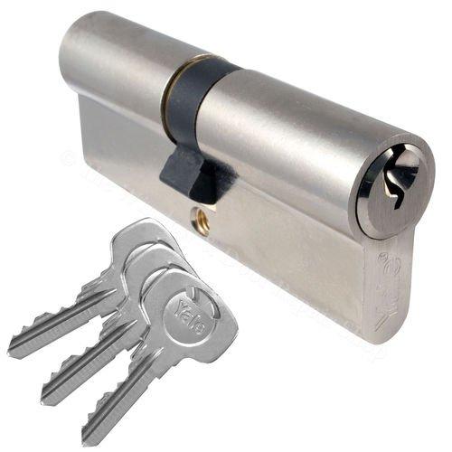 Yale Cylinder Barrel Euro Lock £6.72-£9.99 (depending on size/colour) @ ebay (jcplastics489)
