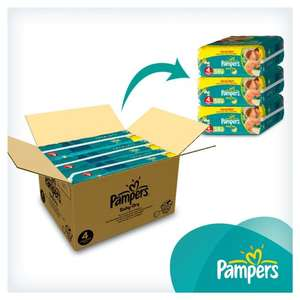 Pampers Newborn Size 0/1/2/3 & Baby Dry Size 3/4/5/6 Monthly Packs (24-198 Nappies) - from 10.6p each @ Amazon.co.uk