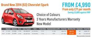 Cheapest new car available - Chevrolet Spark LS - saving over 43% - Motor Depot