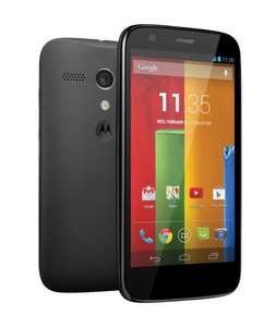 Motorola Moto G 8GB Android (Now Upgradeable to 4.4 KitKat) Smartphone Sim Free/Unlocked £129.99 Delivered @ Amazon.