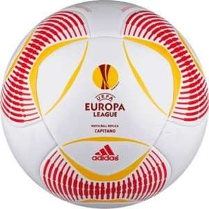 50% off UEFA Europa League Adidas Predator Replica Football - White @ Argos for £5.99