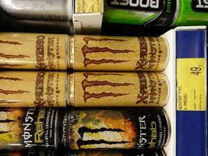 Monster X-Presso Hammer Coffee 285ml Cans @ B&M Stores 49p