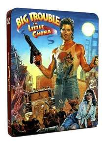 Big Trouble In Little China blu-ray steelbook £15.99 @ Base