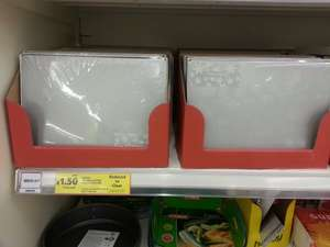 4 Placemats for £1.50 - Tesco Instore