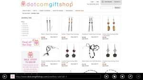 90% Jewellery sale at dotcomgiftshop plus 10% off code
