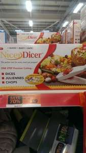 JML Nicer Dicer £9 @ Sainsbury's