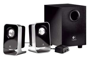 Logitech LS21 2.1 Stereo Speaker System £4.99 at whsmiths