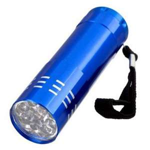 Electrek 9 Led Aluminium Torch £1 @ Poundland