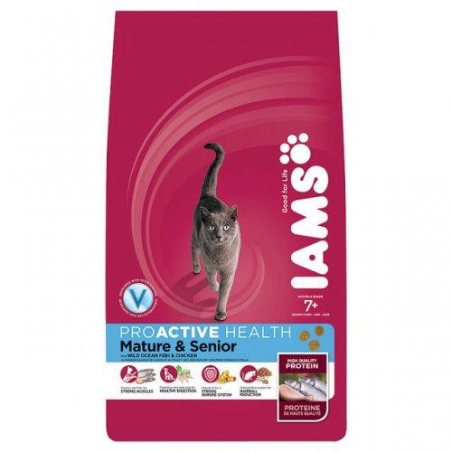 Iams Mature and Senior Cat Food 2.55kg - £10 at Tesco