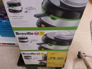 Breville Halo health fryer was £149 reduced to £79 but scans at £59 @ Tesco