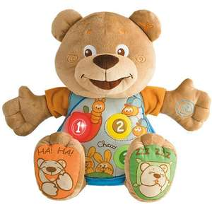 Chicco Teddy Count With Me £9.50 From £22.50  (Free Click & Collect) @ Tesco