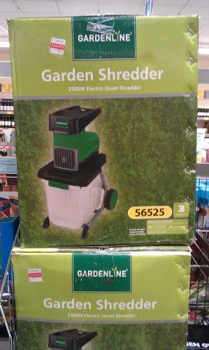 Aldi's Gardenline Garden Shredder was reduced to 49.99 from 99.99.