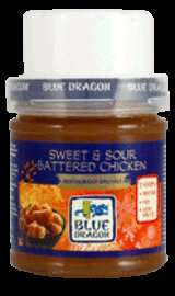 Blue Dragon Restaurant Specials Sweet & Sour Battered Chicken - 59p @ B&M