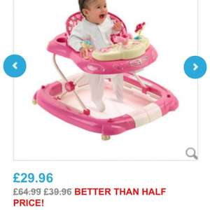 Hello kitty baby walker  £29.96 @ Toys r us