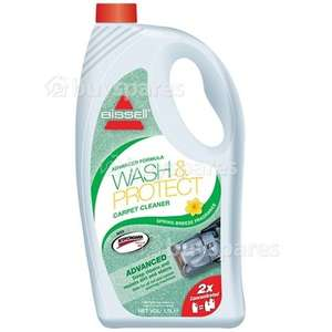 Bissell Wash & Protect Carpet solution 1.5l @ Home Bargains £5.99