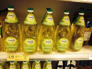 Flora Pure Sunflower oil 2L £1.75 @ tesco