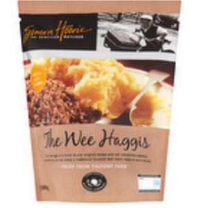 Haggis from £1 at Co-op