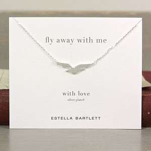 Fly Away With Me' Necklace £5.13 @ Not on the high street