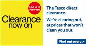 Many Deals Available! Table sets, Beds, Wardrobes, Golf Kits, Colour CCTV System! All in Description! @ Tesco Direct