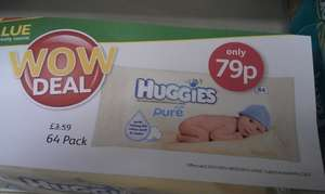 Biggies pure baby wipes - 79p instore @ Londis
