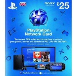 Playstation Network Card - £25 (PS Vita/PS3/PS4) for £20.99 using code @ cdkeys.com