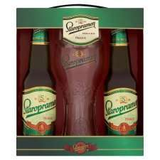 Staropramen gift set 2 x 330ml bottles and a pint glass £3 in tesco