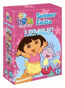 Dora The Explorer: Summer Fiesta (3 discs) dvd rpr £14.99 now £4.75 @ ebay / theentertainmentstore