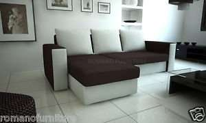 Corner Sofa Bed £199 Plus £69.99 shipping ROMANO FURNITURE Ebay