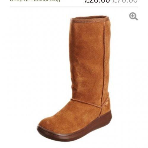 Rocketdog Sugar daddy boots £28 @ Javari